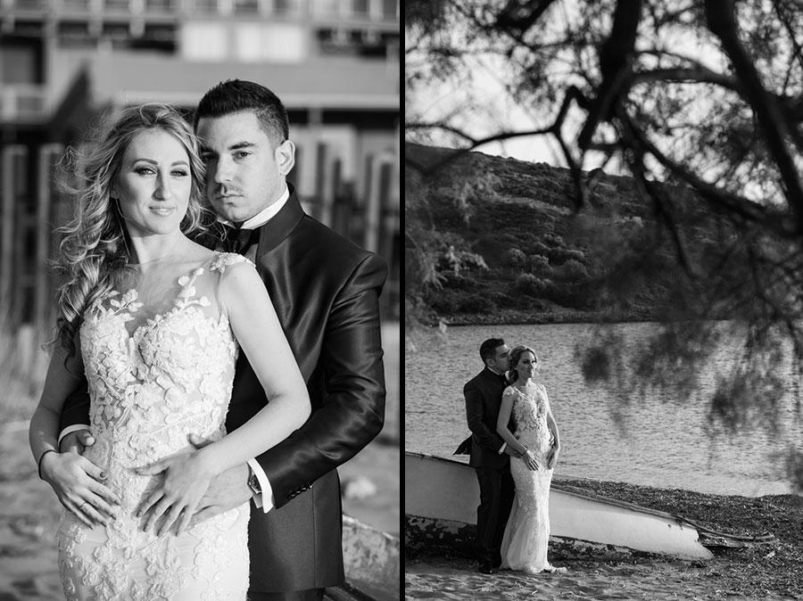 φωτογράφηση γάμου στο Σούνιο