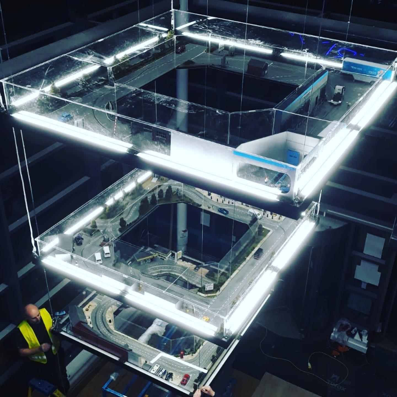 scalextric σύστημα φωτιστικών