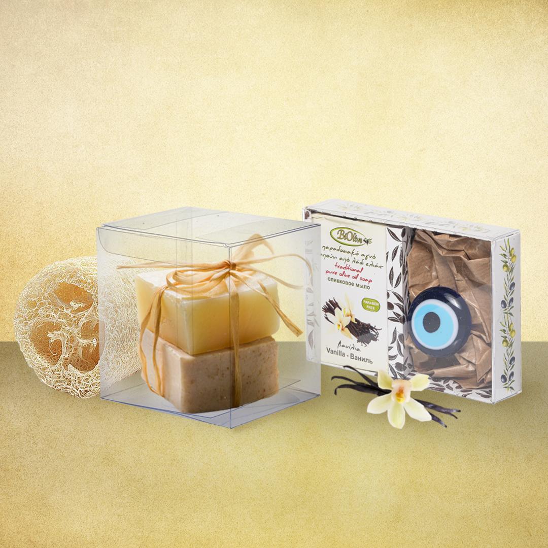 διάφανα κουτιά για μικροαντικείμενα